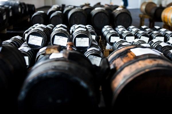 Balsamic Vinegar Aging Barrels