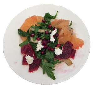 Composed Winter Salad with Balsamic Vinegar
