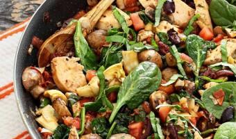 Paleo Skillet Chicken Mediterranean Diet