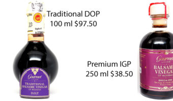 Traditional Balsamic Vinegar:  Don't be Conned!