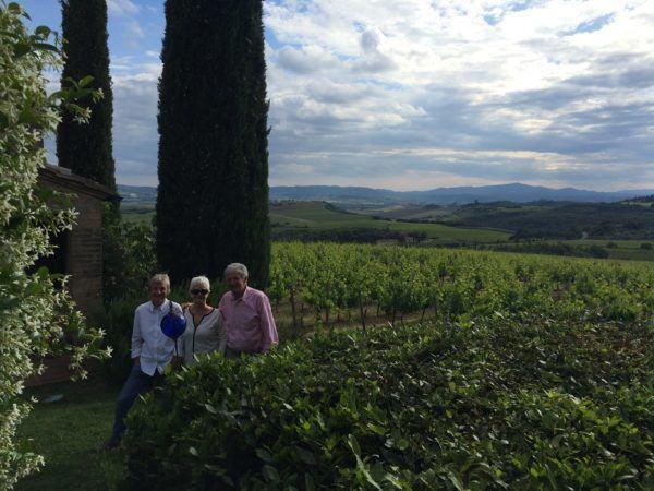 Renate, Giorgio and Sheila in 2015 photo