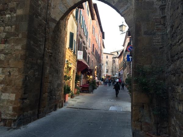 Main Entrance to Montepulciano