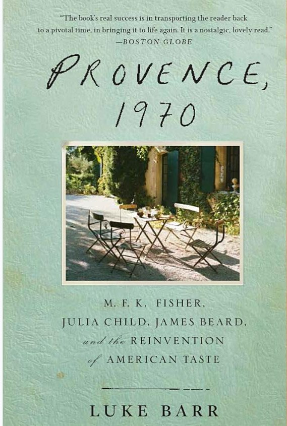 Judith Jones and Provence 1970