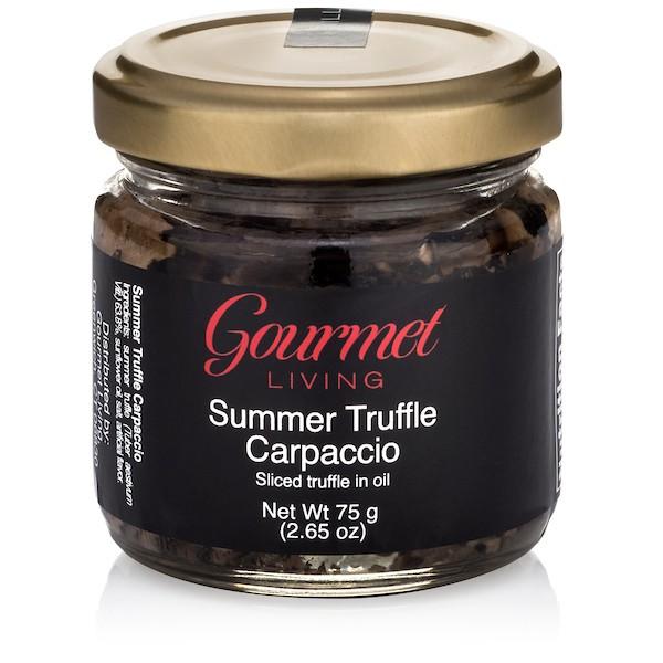 Gourmet Living Summer Truffle Carpaccio