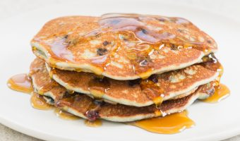 Paleo Pancakes with Blueberries from America's Test Kitchen
