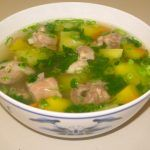 Vietnamese Meatball or Canh