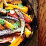 Spiced Peppers and Eggplant from Bon Appetit
