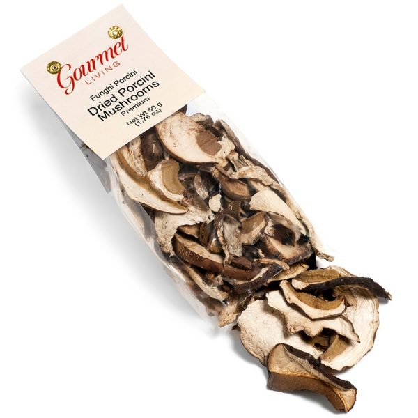 Premium Sliced Dried Porcini Mushrooms
