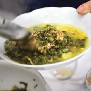 saveur Cabbage-and-White-Bean-Soup-with-Duck-Confit