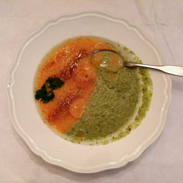 Broccoli and Stilton Soup from Nigella Lawson