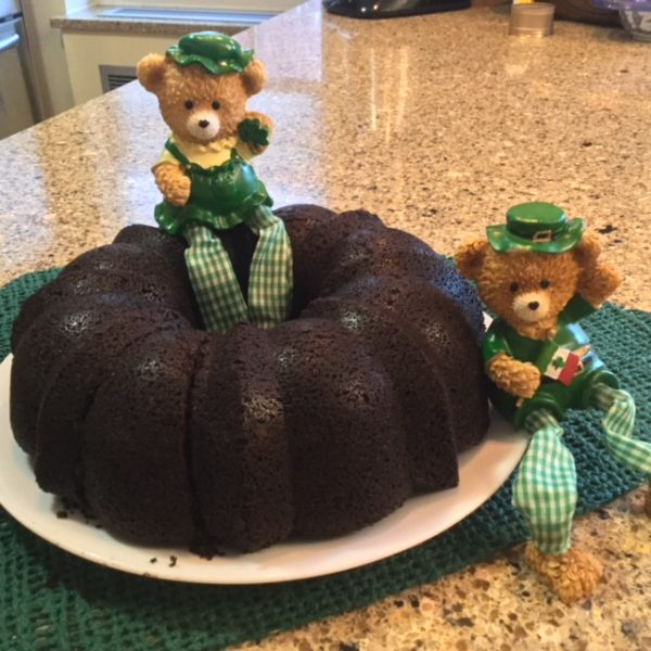 St. Patrick's Day Chocolate Stout Cake