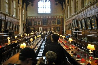 Great Hall at Oxford