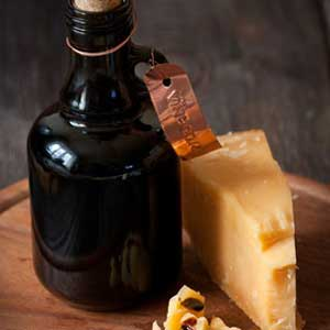 balsamic vinegar and parmesan