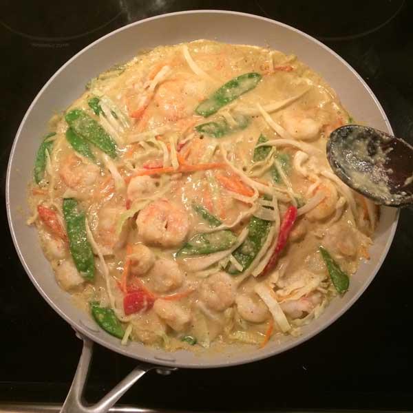 shrimp curry diet recipe