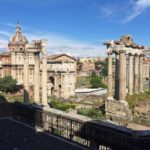 Rome Forum from Palatine Hill